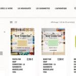 Page produits savons.com